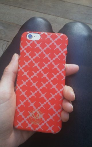 By Malene Birger IPhone 6 cover rood Pamsy 6-4881