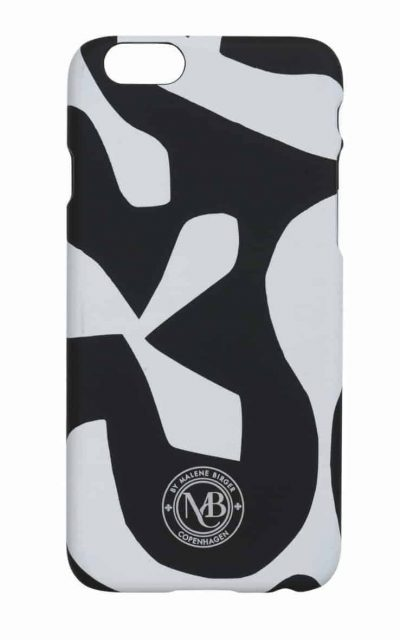 By Malene Birger IPhone 6 cover wit zwart Pamsy 6-0