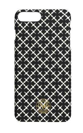By Malene Birger IPhone 7 plus cover zwart wit Pamsy7pl-0