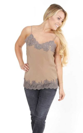 Gold Hawk top luxe camel taupe-4957
