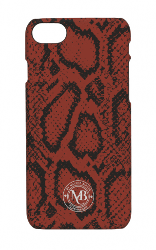 By Malene Birger IPhone 7 cover rood zwart Pamsy7-0