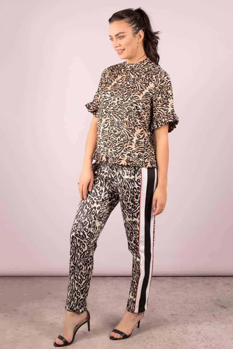 Notes du Nord broek leopard Halo-3026