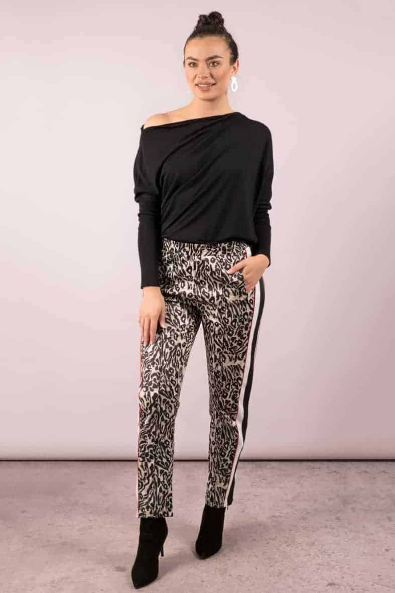 Notes du Nord broek leopard Halo-3028
