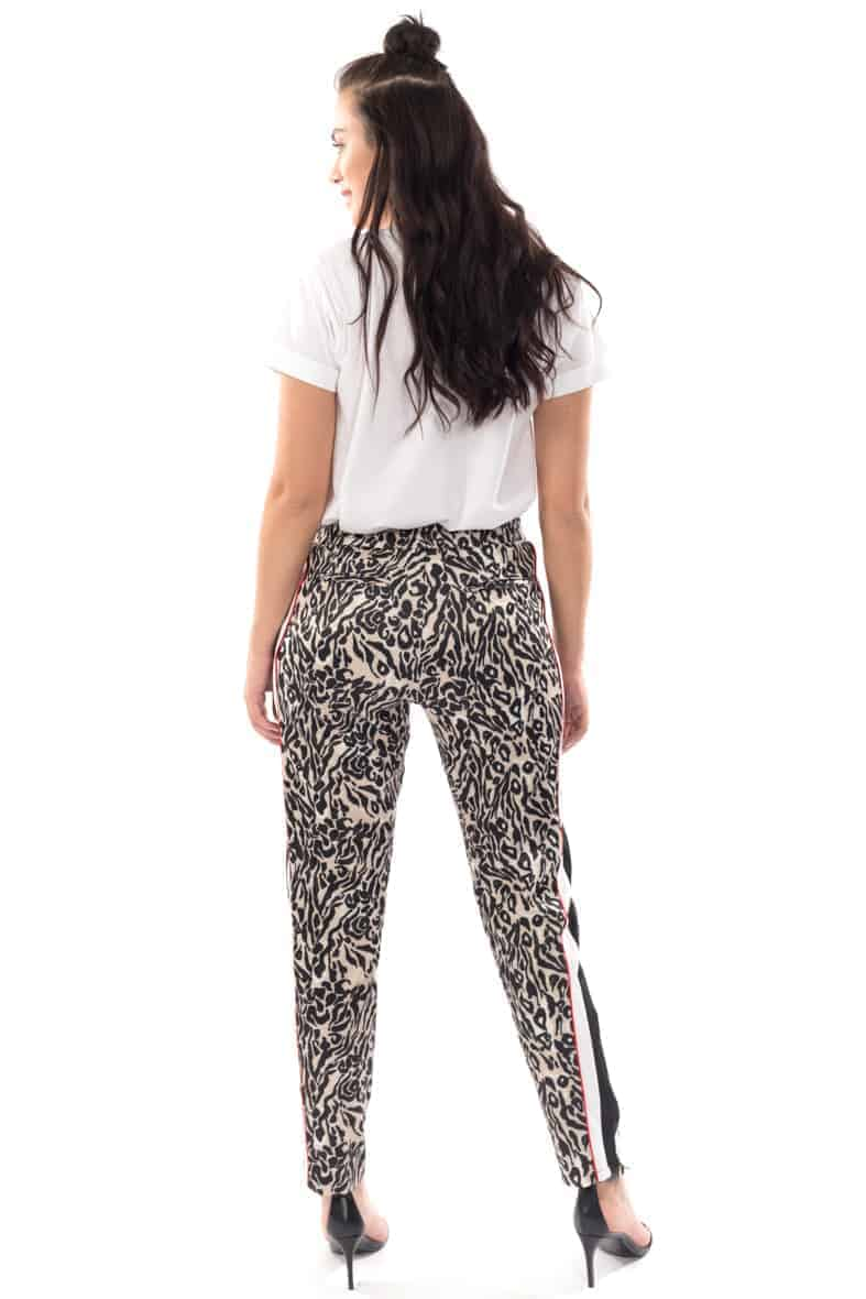 Notes du Nord broek leopard Halo-3022