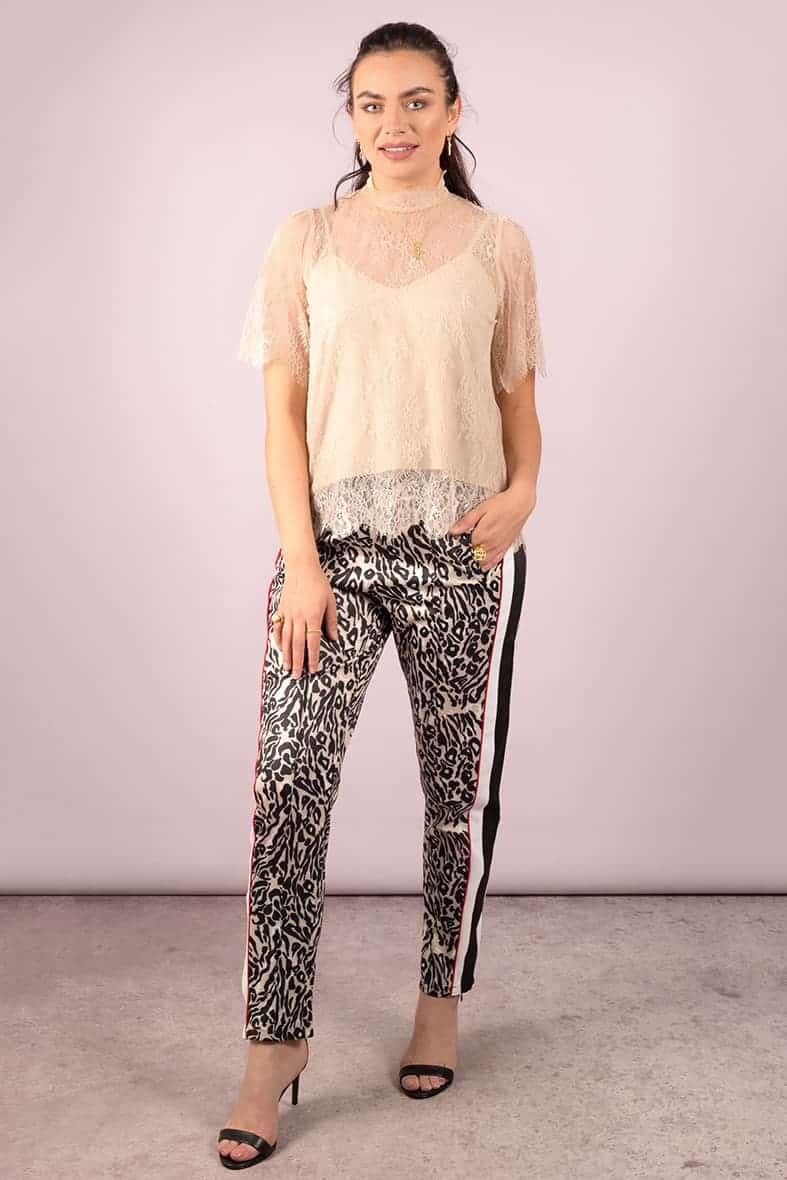 Notes du Nord broek leopard Halo-3027