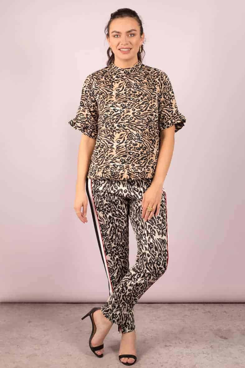 Notes du Nord broek leopard Halo-3024