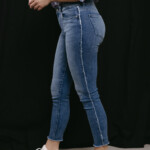 DL1961 jeans Florence ankle skinny Riviera frayed 11