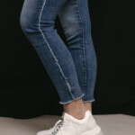 DL1961 jeans Florence ankle skinny Riviera frayed 17