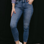 DL1961 jeans Florence ankle skinny Riviera frayed 9